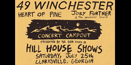 49 Winchester Concert Campout tickets