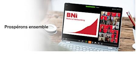 Création de nouvelle section BNI en Montérégie billets