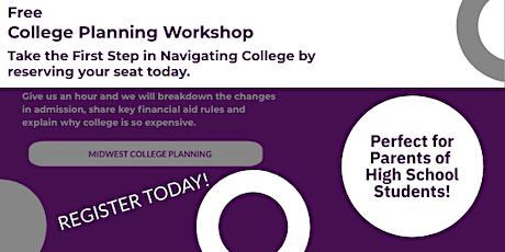 Cincinnati Area Free College Planning Workshop tickets