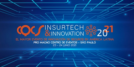CQCS INSURTECH & INNOVATION-  29 y 30 de Junio  de 2021. ingressos