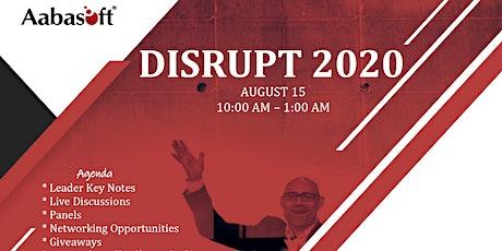 Disrupt 2020 tickets