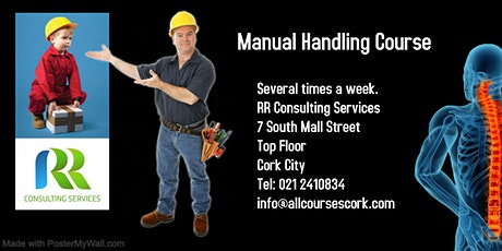 Manual Handling Course Cork tickets