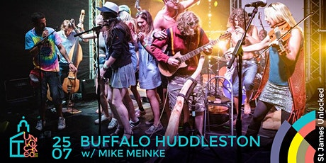 Buffalo Huddleston @ St James Unlocked tickets