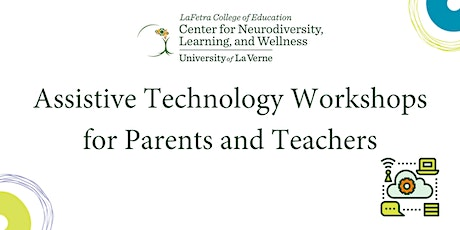 Assistive Technology Workshops tickets