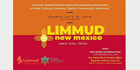 Limmud eFestival: New Mexico tickets