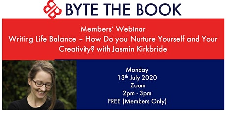 Members' Webinar Writing Life Balance with Jasmin Kirkbride tickets