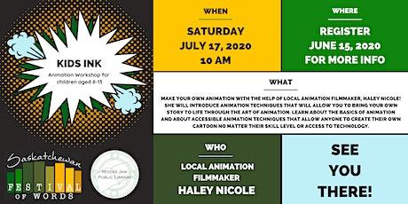 Kids Ink: Animation Workshop tickets