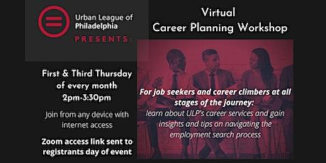 Urban League of Philadelphia Career Planning Workshop tickets
