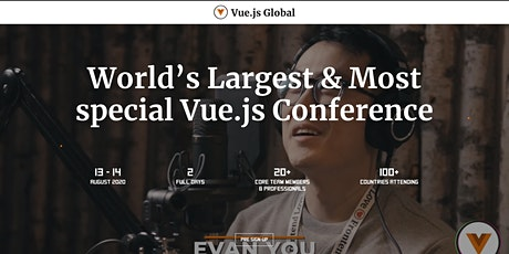Vue Global Conference tickets