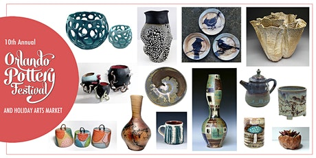 10th Annual Orlando Pottery Festival & Holiday Arts Market tickets