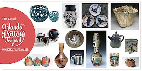 10th Annual Orlando Pottery Festival & Holiday Arts Market tickets