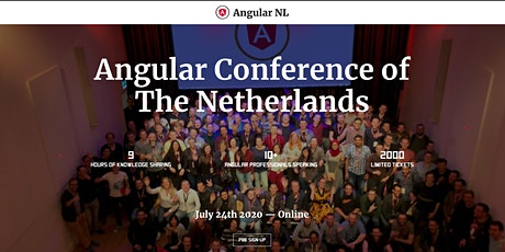 AngularNL 2020 Tickets