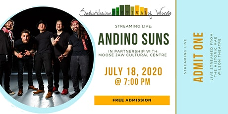Live Streamed Concert: Andino Suns tickets