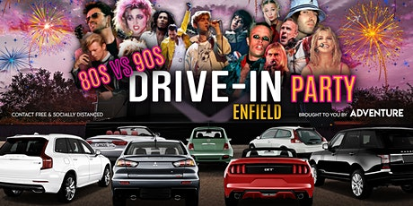 80s vs 90s Drive-In Party in Enfield tickets
