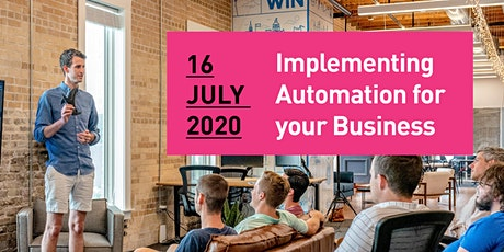 Implementing Automation for your Business | Business Networking Event tickets