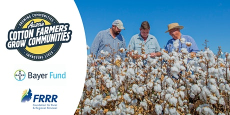 Aussie Cotton Farmers Grow Communities Grant Seeker Workshop - July 22 2020 tickets