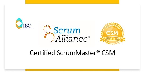 Certified ScrumMaster® CSM - Remote class tickets