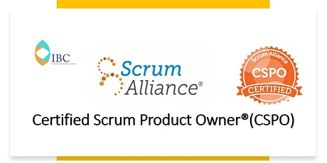 Certified Scrum Product Owner®(CSPO)- In person class tickets