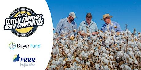 Aussie Cotton Farmers Grow Communities Grant Seeker Workshop - July 17 2020 tickets