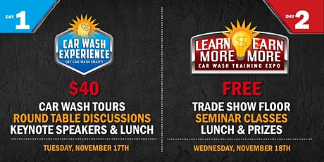 Learn More, Earn More! 2020 Kleen-Rite Car Wash Expo & Training tickets