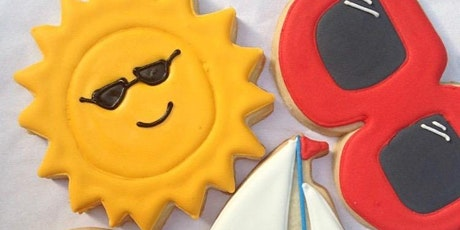 Cookie Decorating Class: Sunny Summer Sugar Cookies @ Fran's Cake & Candy tickets