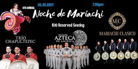 6th Annual Noche de Mariachi tickets