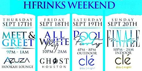 Hfrinks Weekend tickets