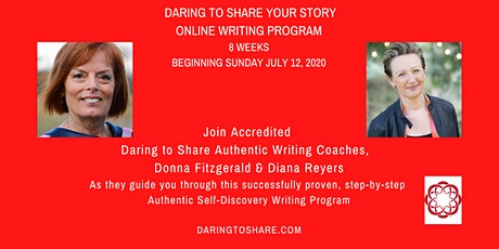 Daring to Share Your Story On Line Writing Program tickets
