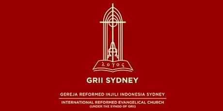 Test of GRII Sydney Sunday Service 22 Juli 2020 tickets