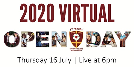 2020 Virtual Open Day tickets