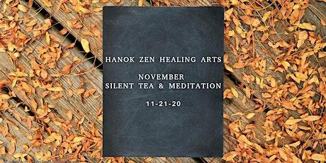 November Silent Tea and Meditation tickets