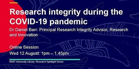 Research integrity during the COVID-19 pandemic tickets