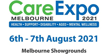 2021 Care Expo Melbourne tickets