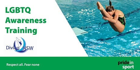 Pride in Sport - LGBTQ Awareness Training for Diving NSW tickets
