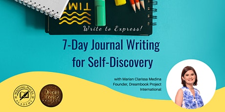 7-Day Journal Writing for Self-Discovery tickets