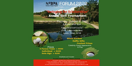 NFBPA FORUM 2020:  Swinging for Scholarships Golf Tournament tickets