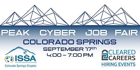 Peak Cyber Job Fair | Cleared Careers - September 17th tickets