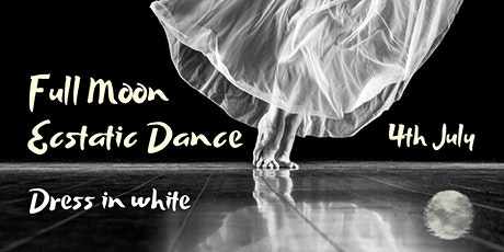 Full Moon White Ecstatic Dance tickets