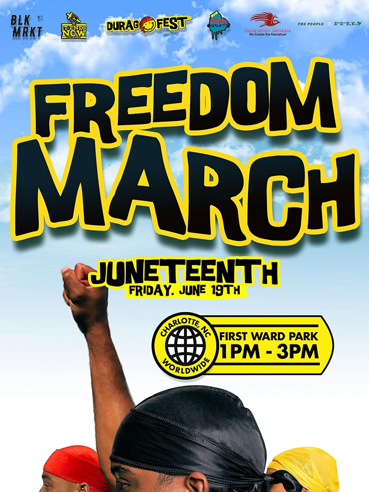 Juneteenth Freedom March image