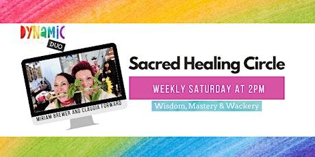 Spiritual Healing, a Sacred Circle - Online each Saturday tickets