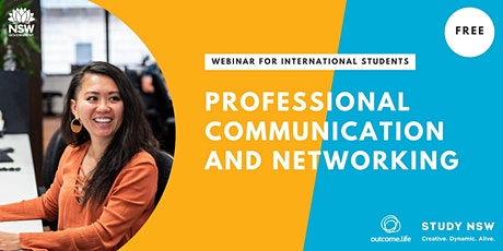 Professional Communication and Networking: Conversation Skills tickets