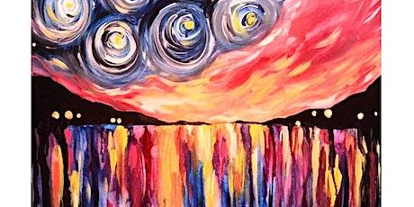 Starry Night Sunset - Plucka's Art Studio (July 19 1.30pm) tickets