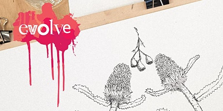 Evolve - Fine Line Botanical Drawing Workshop tickets