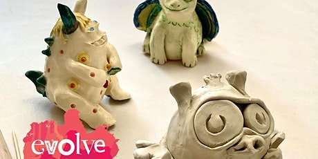 Evolve - Monster Jars and Containers Ceramic Workshop tickets