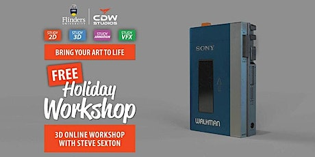Introduction to 3D with Steve Sexton tickets