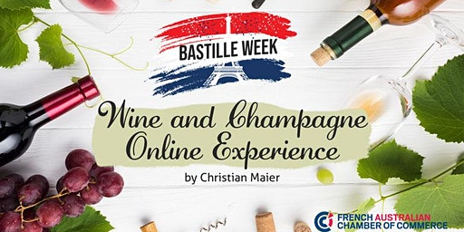 Bastille Day Special   Online Wine Experience