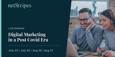 Digital Marketing in a Post COVID Era (Free Live Webinar) tickets
