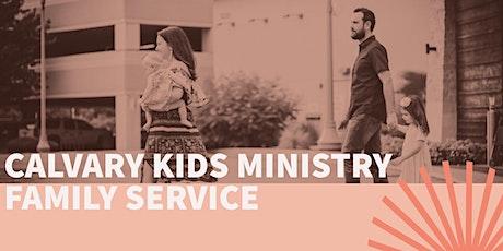 Calvary Kids Camp Family Service tickets