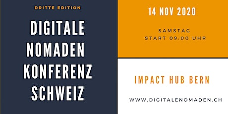 Digitale Nomaden Konferenz 2020 Tickets