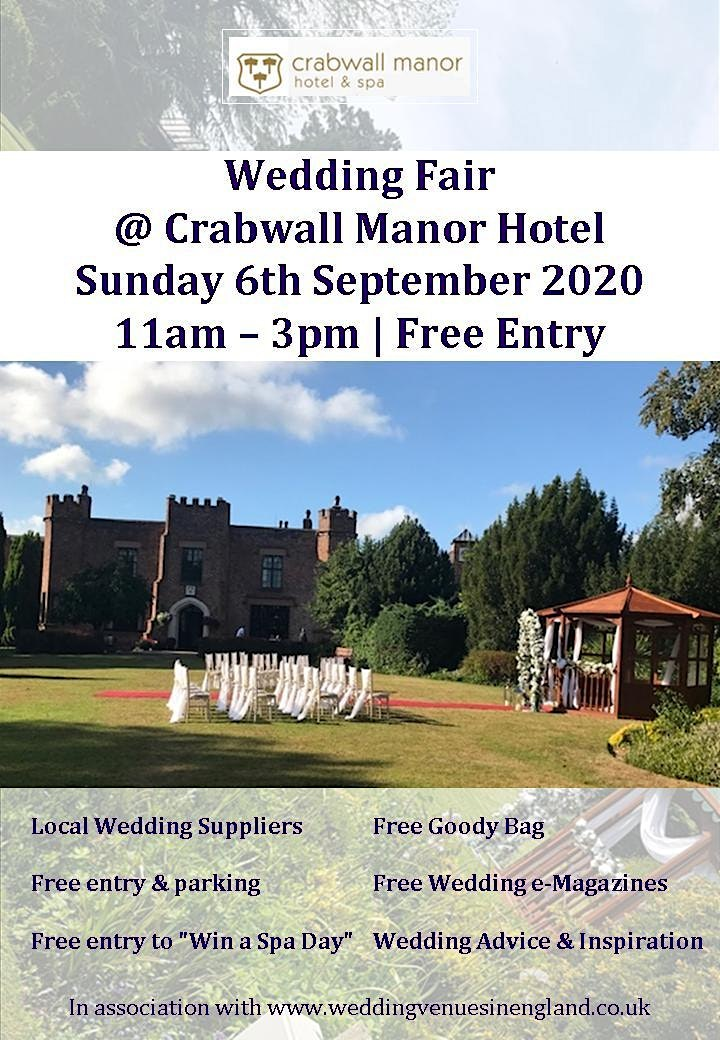 Chester Wedding Fair @ Crabwall Manor Hotel image